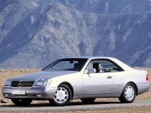 Mercedes-Benz S-Class 1992, купе, 3 поколение, C140