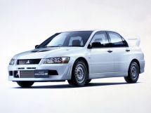 Mitsubishi Lancer Evolution 2001, седан, 7 поколение
