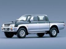 Mitsubishi Strada рестайлинг 1998, пикап, 2 поколение