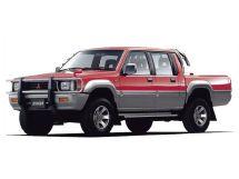 Mitsubishi Strada рестайлинг 1993, пикап, 1 поколение