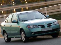 Nissan Almera рестайлинг 2003, седан, 2 поколение, N16