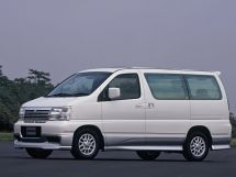 Nissan Elgrand 1997, минивэн, 1 поколение, E50