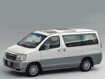 Nissan Elgrand рестайлинг 2000, минивэн, 1 поколение, E50