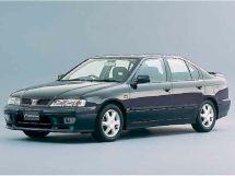 Nissan Primera рестайлинг 1997, седан, 2 поколение, P11