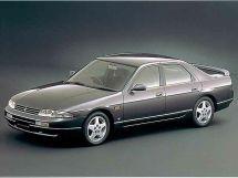 Nissan Skyline 1993, седан, 9 поколение, R33