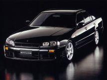 Nissan Skyline 1998, седан, 10 поколение, R34