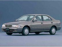 Nissan Sunny рестайлинг 1995, седан, 8 поколение, B14