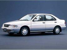 Nissan Sunny 2-й рестайлинг 1997, седан, 8 поколение, B14