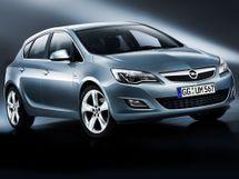 Opel Astra 4 поколение, 09.2009 - 08.2012, Хэтчбек 5 дв.