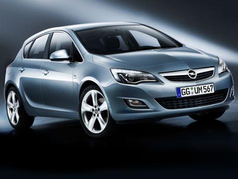 Opel Astra (J) 09.2009 - 08.2012