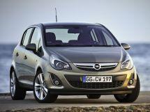 Opel Corsa рестайлинг, 4 поколение, 11.2010 - 11.2014, Хэтчбек 5 дв.
