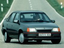 Opel Kadett рестайлинг 1989, седан, 6 поколение, E