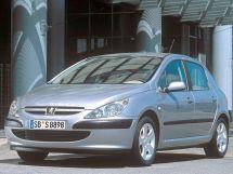 Peugeot 307 2001, хэтчбек 5 дв., 1 поколение