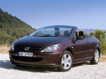 Peugeot 307 2003, открытый кузов, 1 поколение