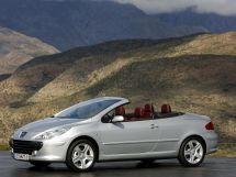 Peugeot 307 рестайлинг 2005, открытый кузов, 1 поколение