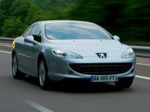 Peugeot 407 рестайлинг 2009, купе, 1 поколение