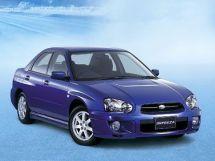 Subaru Impreza рестайлинг, 2 поколение, 11.2002 - 05.2005, Седан