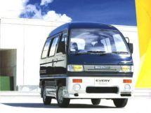 Suzuki Every рестайлинг 1990, минивэн, 2 поколение