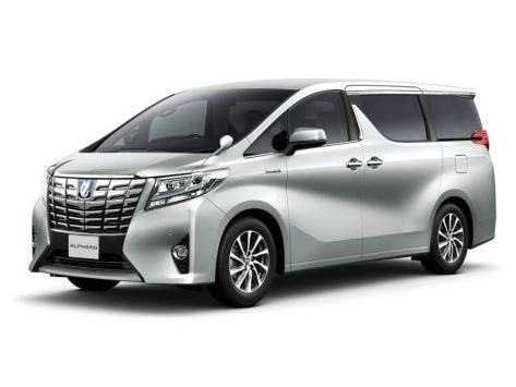 Toyota Alphard (H30) 01.2015 - 12.2017
