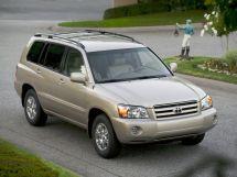 Toyota Highlander рестайлинг, 1 поколение, 08.2003 - 04.2007, Джип/SUV 5 дв.