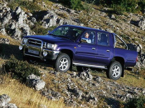 Toyota Hilux Pick Up N140, N150, N160, N170, N190
