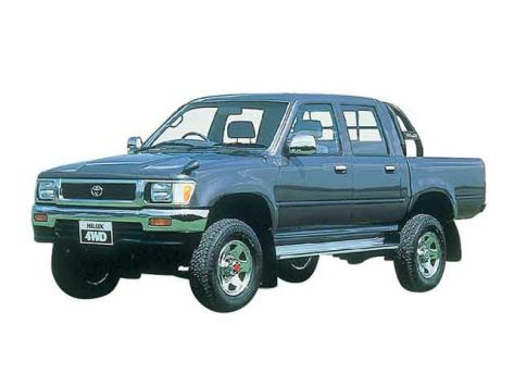 Toyota Hilux Pick Up N80, N90, N100, N110, N120, N130