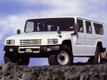 Toyota Mega Cruiser 1996, джип/suv 5 дв., 1 поколение, XD20