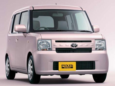 Toyota Pixis Space (L570, L580) 09.2011 - 01.2017