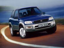 Toyota RAV4 рестайлинг 1997, джип/suv 3 дв., 1 поколение, XA10
