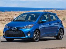Toyota Yaris рестайлинг 2014, хэтчбек, 3 поколение, XP130