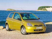 Toyota Yaris 1999, хэтчбек 3 дв., 1 поколение, XP10