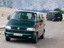 Volkswagen Multivan рестайлинг, 4 поколение, 09.1995 - 06.2003, Минивэн