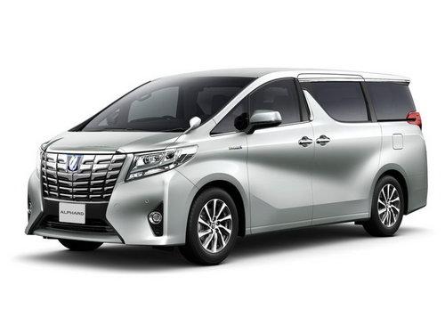 Toyota Alphard 2015 - 2017