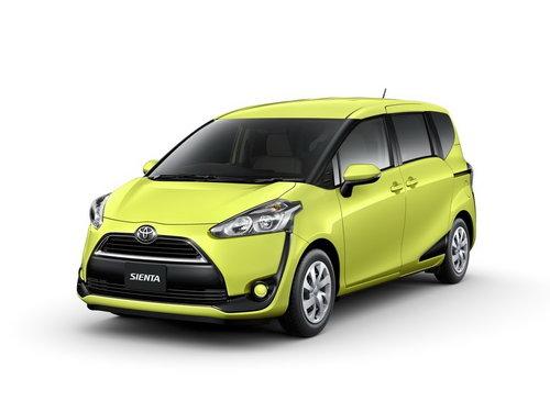 Toyota Sienta 2015 - 2018