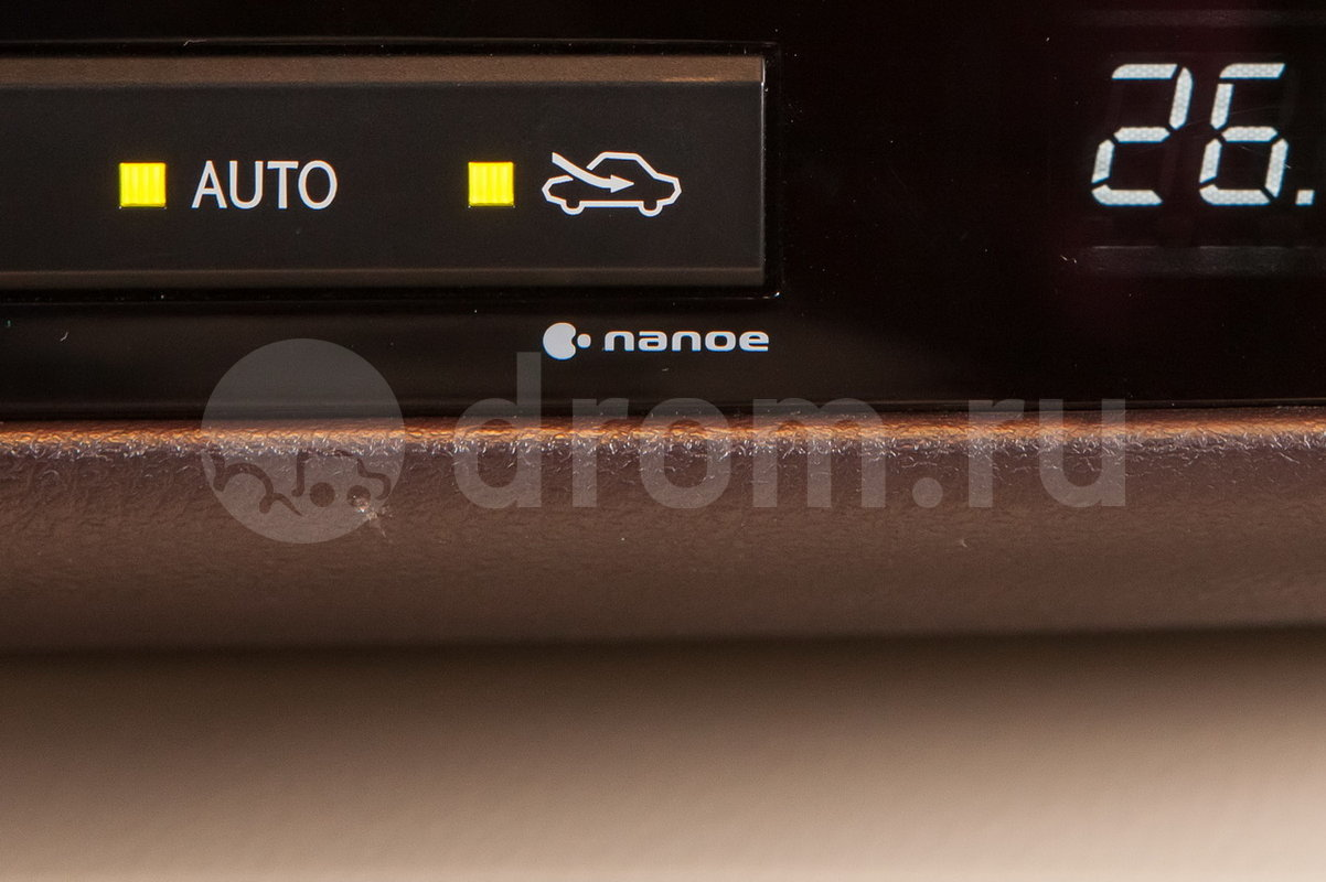 Дополнительно: Ионизатор воздуха Nanoe; Дополнительный обогреватель салона