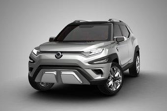 Серийная версия SsangYong XAVL будет оснащаться бензиновым мотором 1.5 и турбодизелем 1.6.