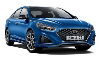 В Корее продажи обновленной Hyundai Sonata начнутся со дня на день.