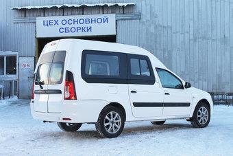 «АвтоВАЗ» добавил мелкосерийный вэн на базе Lada Largus на свой сайт