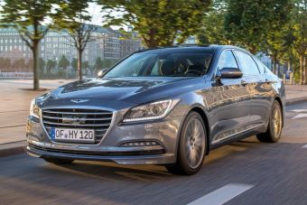 В ближайшее время модель вернется в РФ под люксовым брендом Genesis.