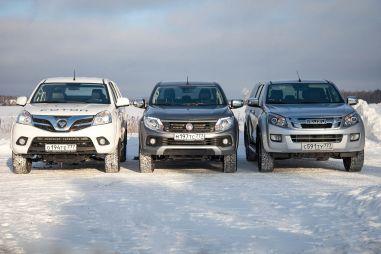 Сравнительный тест Isuzu D-Max, Fiat Fullback, Foton Tunland. Гости из прошлого