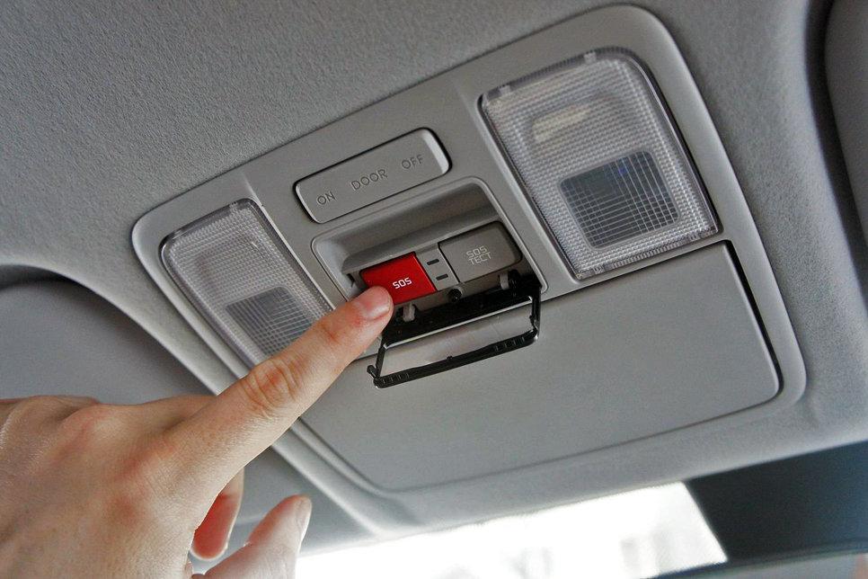 Как работает кнопка глонасс в автомобиле