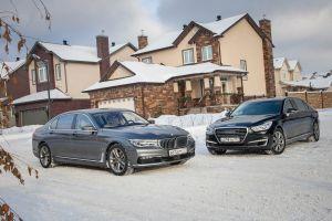 Сравнительный тест BMW 740Le и Genesis G90L. Членовозы, или Олдскул против хай-тека