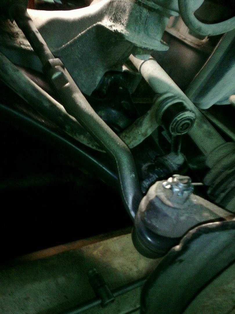 ремонт передней подвески на тойота карина
