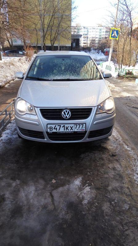 Volkswagen Polo 2008 - отзыв владельца