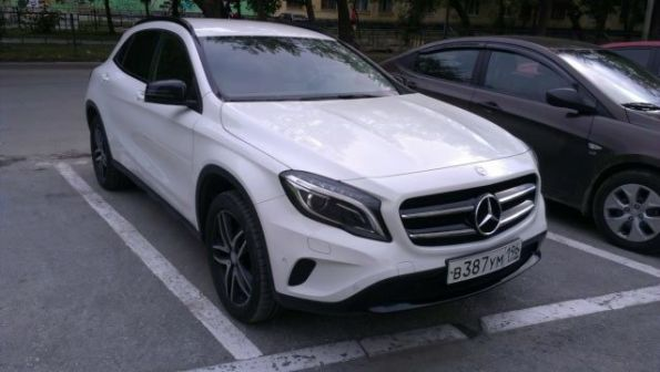 Mercedes-Benz GLA-Class 2015 - отзыв владельца