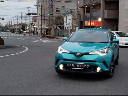 Toyota C-HR 2016 - отзыв владельца