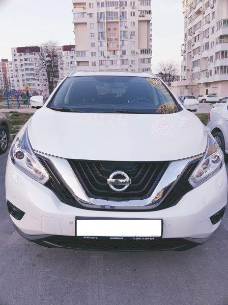 Nissan Murano 2016 - отзыв владельца