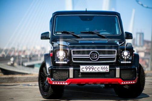 Mercedes-Benz G-Class 2009 - отзыв владельца