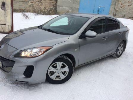 Mazda Mazda3 2013 - отзыв владельца