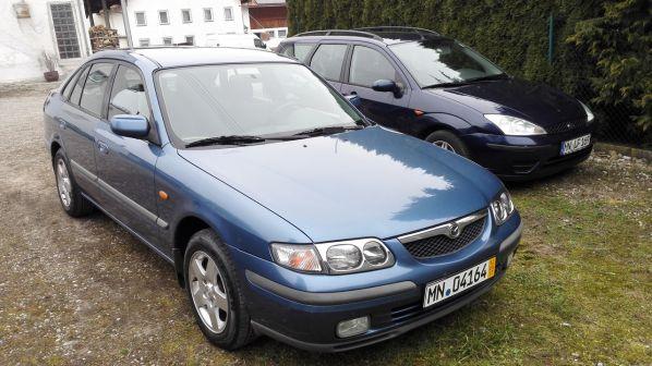 Mazda 626 1997 - отзыв владельца